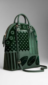 The Bloomsbury in Velvet and Leather | Burberry