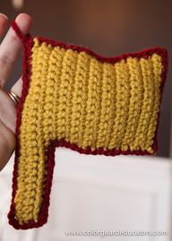 Crochet Flag Stuffed