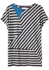 cw stripe top ++ tsu