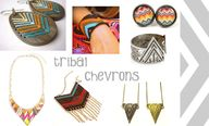 Aztec chevron jewell