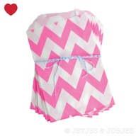 Chevron Hot Pink Par