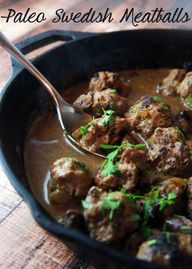 Swedish Meatballs by