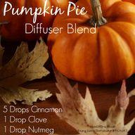 Pumpkin Pie Diffuser