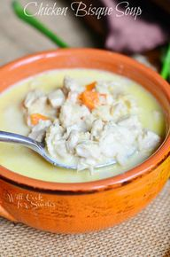 Chicken Bisque Soup