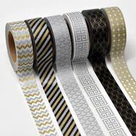 Washi Tape in Silver