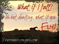 What if i fall.... W