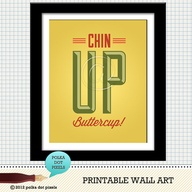 chin up buttercup -