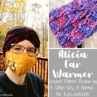Alicia Ear Warmer – Crochet Pattern Review – Desert Blossom Crafts