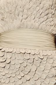 Fabric Feathers from