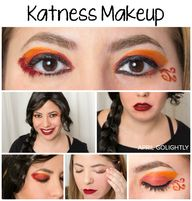 Easy Katness Makeup