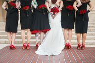 Bridal Party Black B