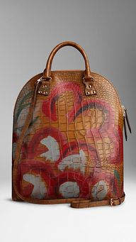 The Bloomsbury in Hand-painted Alligator | Burberry$37,000