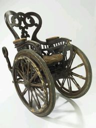 Steampunk wheelchair...