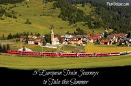 5 European Train Jou