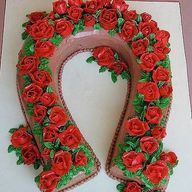 Horseshoe Rose Wreat