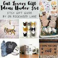 20 Gift Ideas for Cat Lovers Under $50 – Etsy Gift Guide