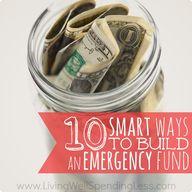 Emergency Fund- 10 w