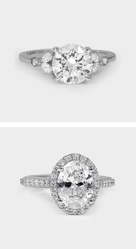 Gorgeous diamond rings.