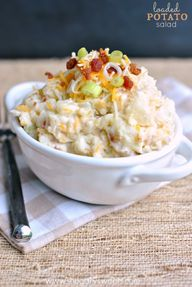 Loaded Potato Salad: