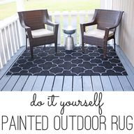 DIY painted outdoor