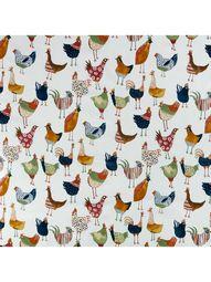 John Lewis & Partners Murray Birds PVC Tablecloth Fabric at John Lewis & Partners