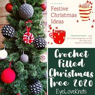 Crochet Filled Christmas Tree 2020