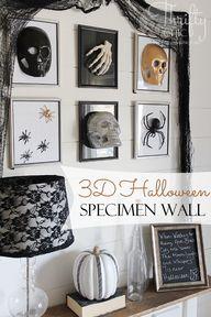3D Halloween specime