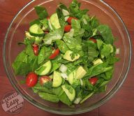 Spinach Avocado Lime