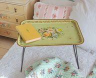 Worcester ware vintage floral tray