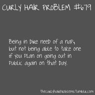 life of a curly head