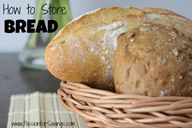 How to Store Bread!