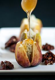 Figs with bleu chees