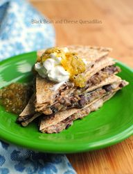 Easy Black Bean and