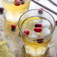Cranberry Ginger Cid