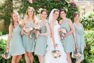 Mint bridesmaid dres
