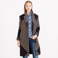 This tweed coat from