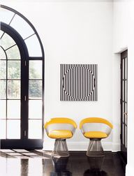 #Platner chairs in s