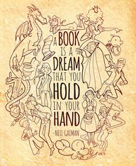 A Book is a dream th