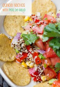 Quinoa Nachos with P