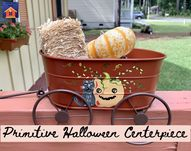 Primitive Halloween Centerpiece - lovemycottage