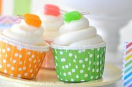 CUTE popsicle cupcak