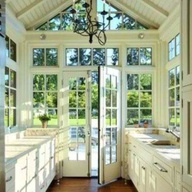 Bright kitchen with...