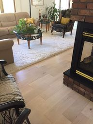 Moderno White Plains Engineered Hardwood Flooring Installation in Montana  #hardwood #floors #engineered