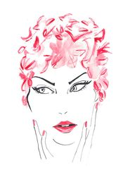 Fifties Pink Beauty