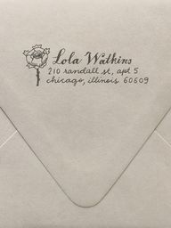 Rose Return Address