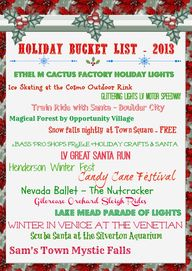 Vegas Holiday Events