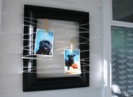 twine wrapped picture frames