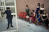 Participants wait ba
