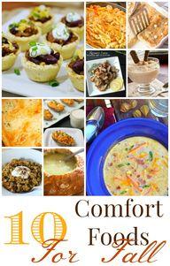 10 Fall Comfort Food