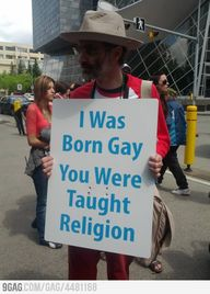 I was born gay